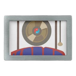 Korean Gong Rectangular Belt Buckles