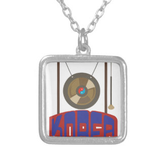 Korean Gong Silver Plated Necklace