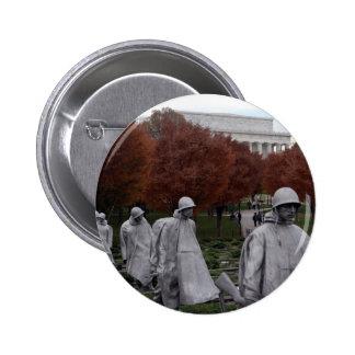 Korean Memorial and Lincoln Memorial Fall Pins