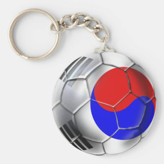 Korean Soccer Team supporters Ball Keychain
