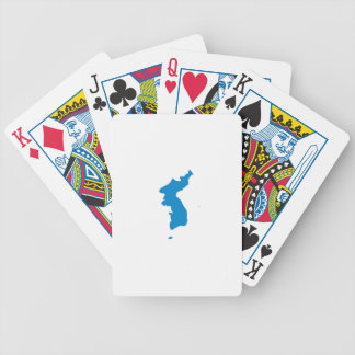 Korean Unification Communist Socialist Flag Bicycle Playing Cards