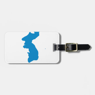 Korean Unification Communist Socialist Flag Luggage Tag