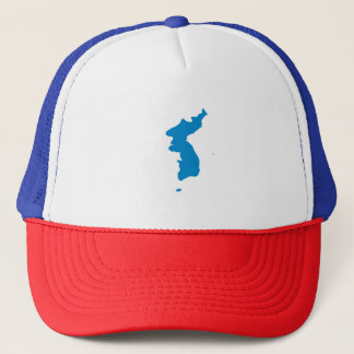 Korean Unification Communist Socialist Flag Trucker Hat
