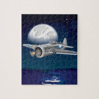 Korean War Fighter Airplane Jigsaw Puzzle