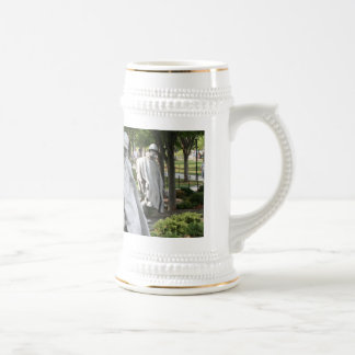 Korean War Memorial Beer Stein