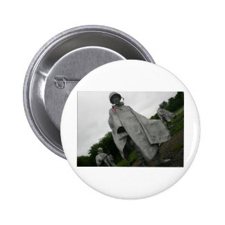 Korean War Memorial Photography 2 Inch Round Button