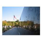 Korean War Memorial veterans Postcard