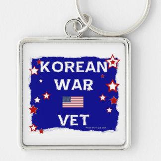 Korean War Vet Keychain