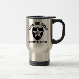Korean War Veteran - 2nd ID Travel Mug
