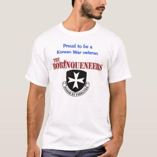 Korean War veteran - Borinqueneers T-shirt