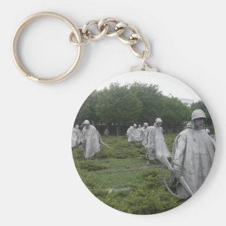 Korean War Veteran's Memorial Keychain