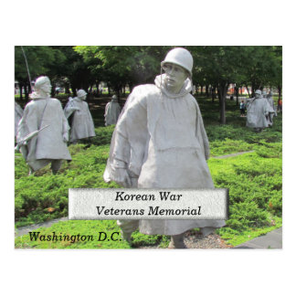 Korean War Veterans Memorial - postcard