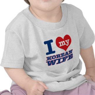Korean wife designs tshirts