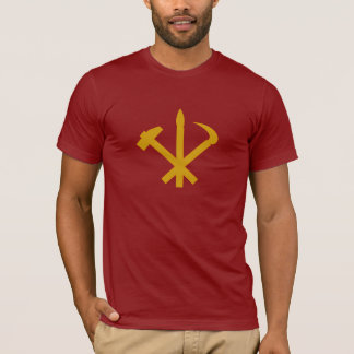 Korean Workers' Party - Korea Juche Kim Communist T-Shirt