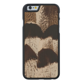 Kori Bustard feather design Carved® Maple iPhone 6 Case
