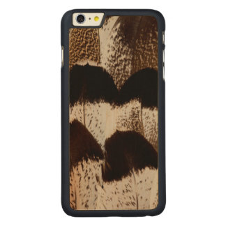 Kori Bustard feather design Carved® Maple iPhone 6 Plus Case