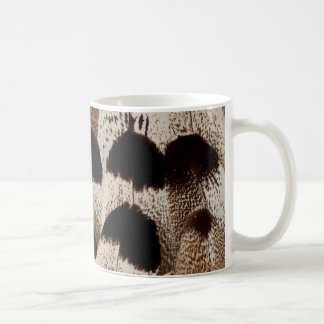 Kori Bustard feather design Coffee Mug