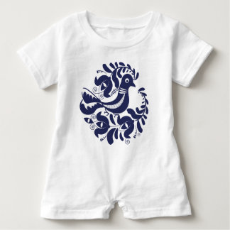 Korondi folk motif baby romper