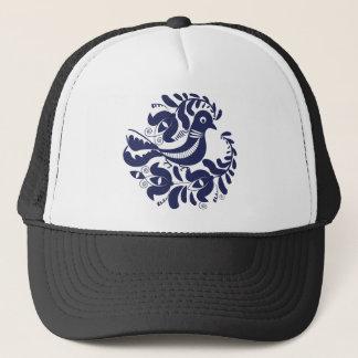 Korondi folk motif trucker hat