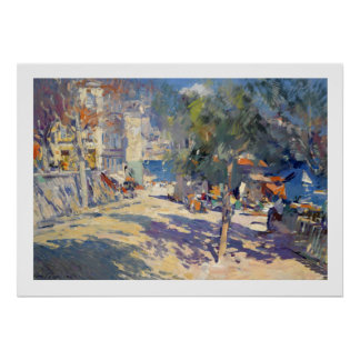 Korovin, View South of France Poster