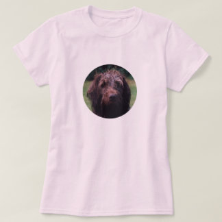 Korthals Griffon Sarah portrait T-Shirt