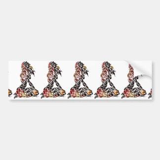 Koru Girl Bumper Sticker