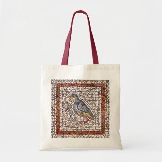 Kos Bird Mosaic Canvas Crafts & Shopping Bag