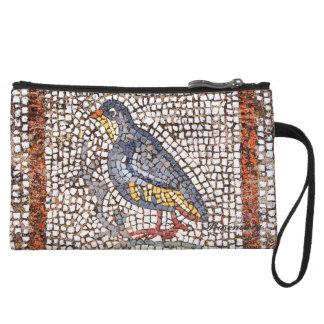 Kos Bird Mosaic Cute Mini Clutch