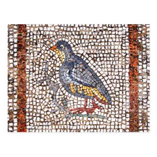 Kos Bird Mosaic Postcard