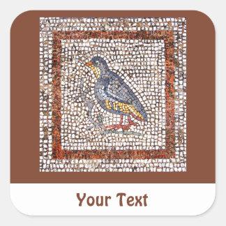 Kos Bird Mosaic Sheets of Stickers