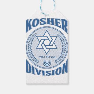 Kosher Division Gift Tags