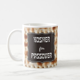 """Kosher for Passover"" Matzo Mug"