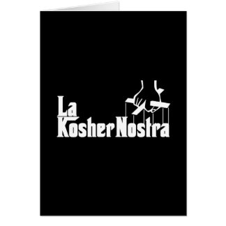 Kosher Nostra Card
