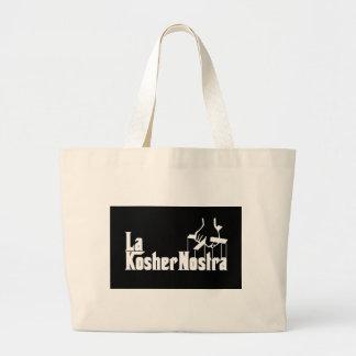 Kosher Nostra Large Tote Bag