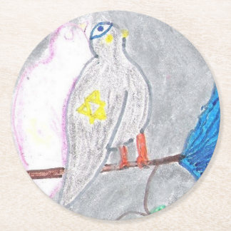 Kosher Pigeon Coaster