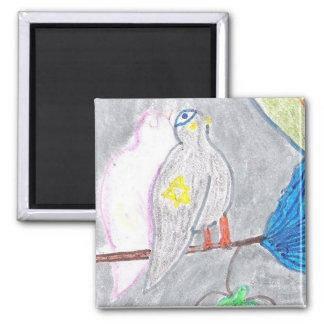 Kosher Pigeons Magnet