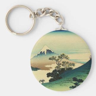 Koshu Inume Toge - Katsushika Hokusai Ukiyo-e Art Keychain