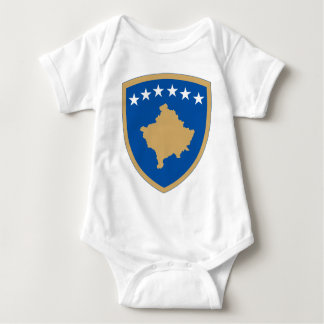 Kosovo coat of arms baby bodysuit