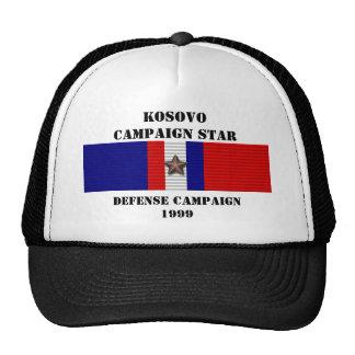 KOSOVO DEFENSE CAMPAIGN TRUCKER HAT