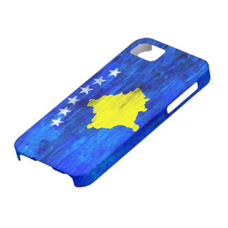 Kosovo distressed flag iPhone 5 cover