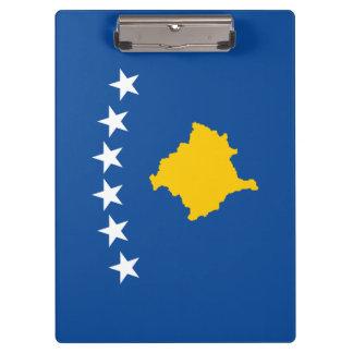 Kosovo Flag Clipboard
