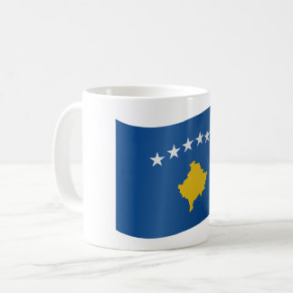 Kosovo Flag Coffee Mug