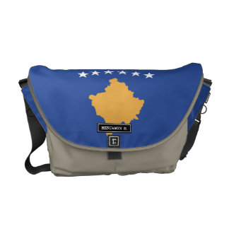 Kosovo Flag Commuter Bag