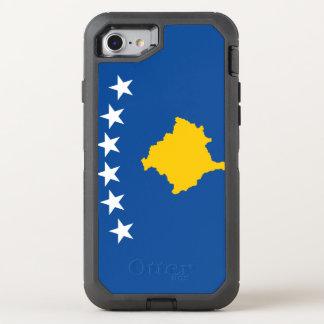 Kosovo Flag OtterBox Defender iPhone 8/7 Case
