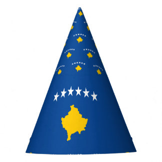 Kosovo Flag Party Hat