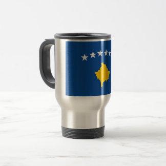 Kosovo Flag Travel Mug