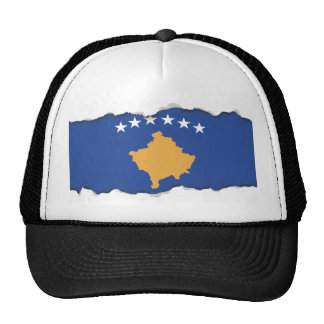 Kosovo Flag Trucker Hat
