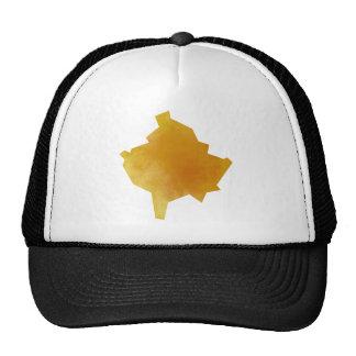 Kosovo Map Trucker Hat