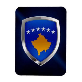 Kosovo Metallic Emblem Magnet