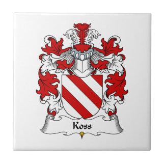 Koss Family Crest Tile